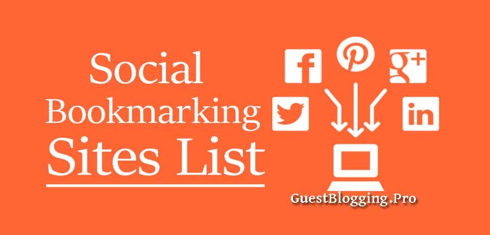 Best Social Bookmarking Sites for Backlinks